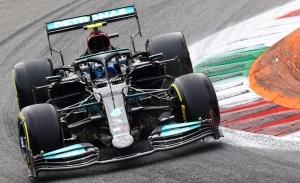 Pole de Bottas al sprint en Monza; Hamilton cae en picado, Sainz 7º