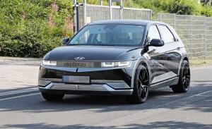 Fotos espía del IONIQ 5 N, Hyundai ya trabaja en su primer deportivo 100% eléctrico