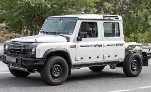 La variante tipo pick-up del nuevo INEOS Grenadier ya está en desarrollo