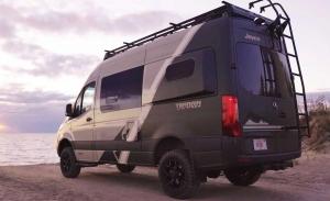 Jayco Terrain, el Mercedes Sprinter se convierte en una camper para aventureros