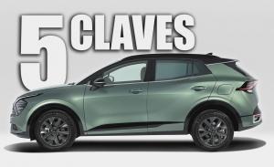 Las 5 claves del nuevo KIA Sportage 2022, el exitoso SUV se renueva por completo