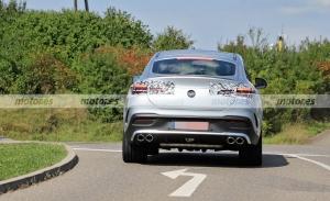 Cazado el Mercedes-AMG GLE 53 Coupé Facelift 2023 en fotos espía en Alemania