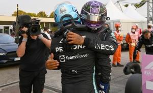 Mercedes anticipa órdenes de equipo en la carrera sprint