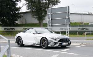 El nuevo Mercedes SL 2022 posa en fotos espía ¡destapado!