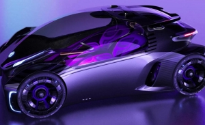 MG Maze, un coche eléctrico inspirado por los videojuegos