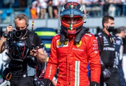 Sainz reflexiona sobre sus últimos accidentes: «Tardará en volver a suceder»