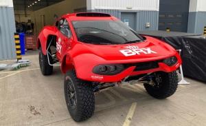 Nani Roma tiene el primer contacto con el BRX Hunter T1+ de Prodrive