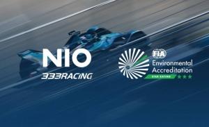 NIO 333 recibe tres estrellas en la Acreditación Ambiental de la FIA