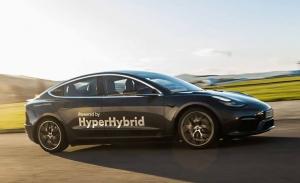 Obrist Hyperhybrid, el Tesla Model 3 con 1.500 kilómetros de autonomía