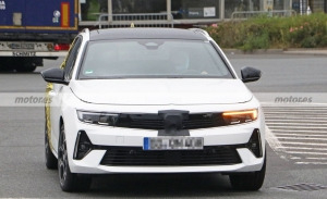 Primeras fotos espía del Opel Astra Sports Tourer 2023, el nuevo familiar en pruebas