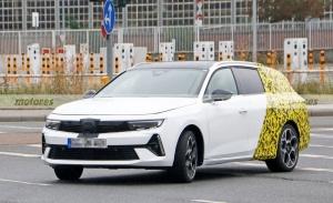 Nuevas fotos espía del Opel Astra Sports Tourer 2023 confirman una versión PHEV