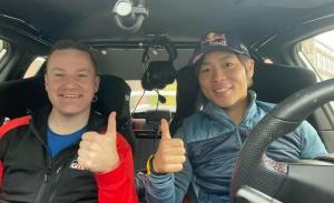 ¡Otro cambio de copiloto! Katsuta y Johnston, juntos en Finlandia
