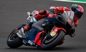 Pecco Bagnaia manda en un test de Misano fundamental para Honda