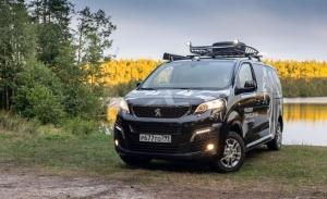 Peugeot Traveller concept camper, una propuesta especial para Rusia