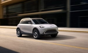 Concept smart # 1, el adelanto del futuro SUV eléctrico de smart