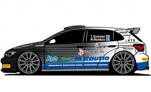 Teemu Suninen estará en Finlandia con un Volkswagen Polo GTI R5
