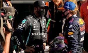 La tensión no baja: más cruce de declaraciones entre Hamilton y Verstappen
