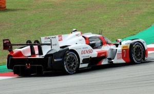 Test del Toyota GR010 Hybrid en el Circuit de Barcelona-Catalunya