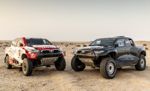 Toyota GR DKR Hilux T1+: nuevo 4x4 por cuatro para el Dakar 2022