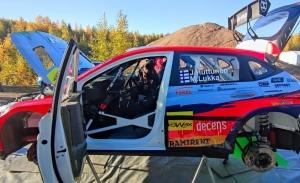 Tregua con enorme talento en la categoría WRC2 del Rally de Finlandia