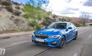 Alemania - Agosto 2021: El BMW Serie 3 se adentra en el podio
