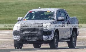 Primeras fotos espía del Volkswagen Amarok 2023 en Estados Unidos