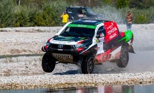 Yazeed Al-Rajhi conquista el triunfo en una compleja Baja Italia