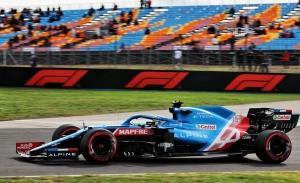 Alonso, con ritmo en su Alpine aunque llueva: «Preparados para cualquier previsión»