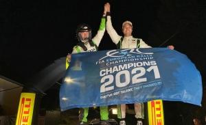 Andreas Mikkelsen suma el título del Europeo de Rallies al de WRC2