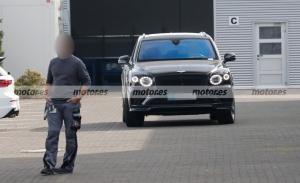 Nuevas fotos espía en Nürburgring desvelan el nuevo Bentley Bentayga Blackline 2022