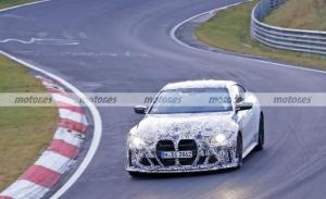 Los prototipos del nuevo BMW M4 CSL 2023 surcan Nürburgring a toda velocidad