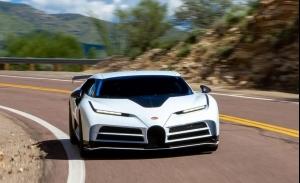 El prototipo del Bugatti Centodieci traslada sus pruebas a Estados Unidos
