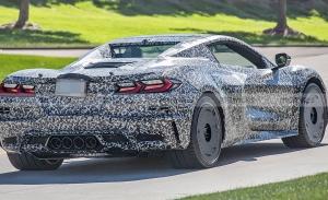 El nuevo Chevrolet Corvette Z06 Convertible es avistado por primera vez
