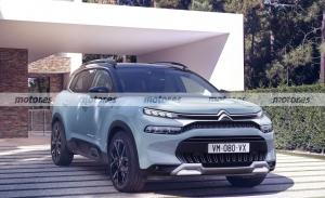 Adelanto del Citroën C5 Aircross Facelift 2022, nuevos argumentos para el SUV francés