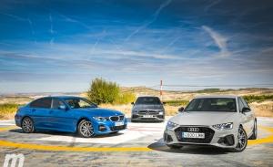 Comparativa Audi A4, BMW Serie 3 y Mercedes Clase C, tres rivales y un ganador (Con vídeo)