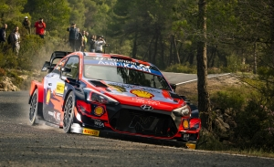 Dani Sordo repite en el tercer Hyundai i20 WRC Coupé en Monza