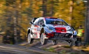 Elfyn Evans logra una brillante victoria en el Rally de Finlandia
