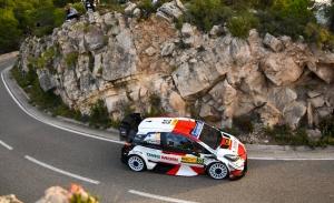 Elfyn Evans es el primer líder sobre el asfalto del Rally RACC