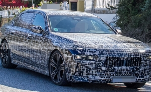 Los faros del nuevo BMW Serie 7 2023 al detalle en estas fotos espía