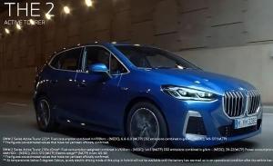 Una filtración oficial desvela el frontal del nuevo BMW Serie 2 Active Tourer