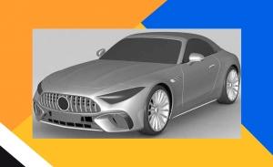 El diseño del nuevo Mercedes-AMG SL 2022 se filtra en estas patentes