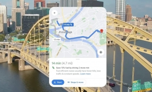 Google Maps recomendará la ruta más ecológica aunque no sea la más rápida