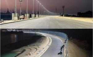 El GP de Arabia Saudí avanza: nuevas imágenes del circuito de Jeddah