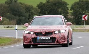 El nuevo camuflaje del Honda Civic Type R 2023, al detalle en estas fotos espía