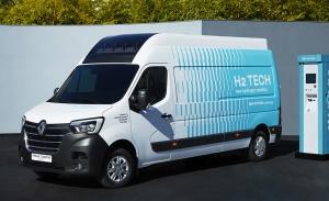 Renault Master Van H2-TECH, la esperada furgoneta de hidrógeno de HYVIA