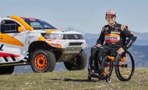 Isidre Esteve competirá en el Dakar 2022 con el apoyo de Toyota España