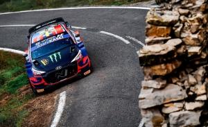 El joven Oliver Solberg repite con el Hyundai i20 WRC Coupé en Monza