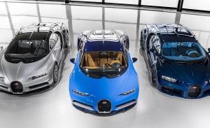 La producción del Bugatti Chiron, a punto de completar el límite máximo