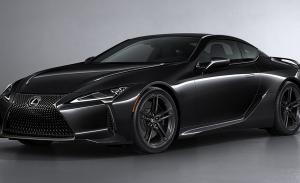 Lexus LC Black Inspiration, un toque extra de sofisticación y exclusividad