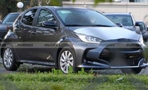 ¿Un Toyota Yaris bajo la marca Mazda? ¡Será realidad! Y estas son sus primeras fotos